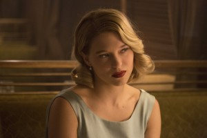 EXCLUSIVE IMAGE FOR USA TODAY OR USATODAY.COM FOR 7/20.  LÈa Seydoux in Metro-Goldwyn-Mayer Pictures/Columbia Pictures/EON Productionsí action adventure SPECTRE.  HANDOUT Photo by Jonathan Olley [Via MerlinFTP Drop]