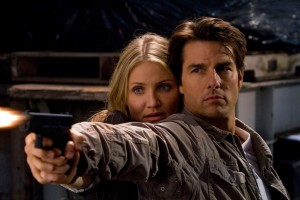 KNIGHT & DAY As the danger escalates during their global adventure, June Havens (Cameron Diaz) finds herself increasingly drawn to the mysterious Roy Miller (Tom Cruise). Photo credit: Frank Masi TM and © 2010 Twentieth Century Fox and Regency Enterprises. All rights reserved. Not for sale or duplication.